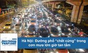 """Video: Đường phố Hà Nội """"chết cứng"""", dòng người"""