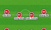 """Olympic Việt Nam vs Olympic Palestine: HLV Park """"thử nghiệm đội hình"""""""
