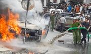 Lãnh đạo huyện lên tiếng việc dùng xe hút bể phốt chữa cháy ở Sa Pa