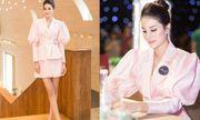 Hoa hậu Phạm Hương khoe thần thái sang chảnh, chân dài miên man tại sự kiện