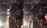 Video: Nghi vấn vợ bế con nhỏ đi bắt quả tang chồng ngoại tình ở Hà Nội