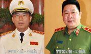 Giáng cấp bậc hàm cấp tướng đối với hai tướng công an
