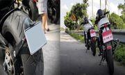 Clip: Xe máy không đeo biển số ra đường bị phạt như thế nào?