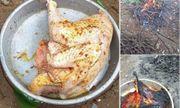 Không thể nhịn cười với thanh niên trổ tài làm món 'gà chết cháy thất truyền của Ngưu Ma Vương' đãi bố mẹ vợ