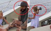 Video: Bị ngó lơ, bé gái 4 tuổi hồn nhiên ném điện thoại của bố xuống biển