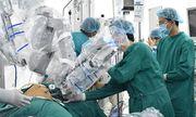 Lần đầu tiên dùng robot phẫu thuật trong phẫu thuật ung thư thực quản