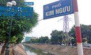 Hà Nội: 1km có tới 7 ống xả thải, sông Kim Ngưu khó