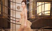 Jennifer Phạm khoe nhan sắc quyến rũ với đầm đính kết ngàn viên pha lê