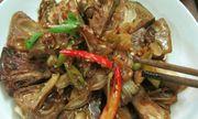 Món chay tháng Vu lan: Mít non kho tộ cho bữa cơm thêm đậm đà