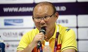 HLV Park Hang Seo phấn khởi vì Olympic Việt Nam đoạt vé vào vòng 1/8 ASIAD