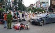 Nữ tài xế xe sang BMW gây tai nạn liên hoàn ở Hà Nội