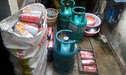 Bắc Giang: Nhan nhản cơ sở bán gas trái phép giữa khu dân cư