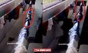 Video: Hoảng hồn rắn hổ mang ẩn mình trên dây phơi tấn công người đàn ông