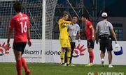 Thủ môn số 1 của Olympic Hàn Quốc sẽ nhịn đau để ra sân đấu với Việt Nam?