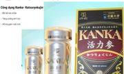 Cảnh báo thực phẩm bảo vệ sức khỏe Kanka trên 1 số website không đảm bảo chất lượng