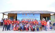 Đoàn thiện nguyện dự án xây dựng trường tiểu học Tà Moong tổ chức lễ khánh thành trước thềm năm học mới