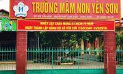 Ninh Bình: Trường mầm non bị