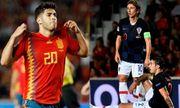 Video: Á quân World Cup 2018 Croatia bị Tây Ban Nha vùi dập 6 bàn không gỡ