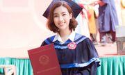 Một ngày trước khi kết thúc nhiệm kỳ Hoa hậu, Đỗ Mỹ Linh rạng rỡ nhận bằng tốt nghiệp