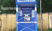 """Thẻ bị """"nuốt"""", không rút được tiền, nam thanh niên tức giận đập hỏng cả máy ATM"""