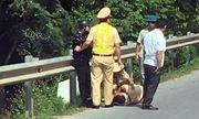 Vĩnh Phúc: Ra hiệu lệnh dừng xe, một CSGT bị tông nhập viện