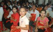Trung thu về khi tình yêu thương chạm vào trái tim những đứa trẻ