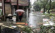 Hồng Kong tan hoang sau khi siêu bão Mangkhut đổ bộ