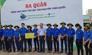 """""""Đại sứ Đại dương xanh"""" tham gia """"Chiến dịch Làm cho thế giới sạch hơn"""" tại Bình Thuận"""