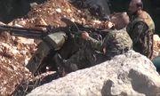 Video: Cận cảnh Syria bắn hạ UAV có gắn bom của khủng bố