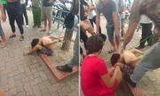 Hà Nội: Thiếu niên đánh giày bị trói tay chân vào gốc cây gần công viên Thống Nhất
