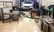 Hà Tĩnh: Ô tô 7 chỗ lao vào quán nhậu, 6 người nhập viện