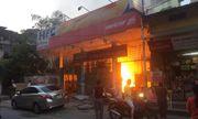 Hà Nội: Cháy trạm xăng cũ trên phố Hồng Mai