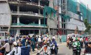 Hé lộ tình tiết bất ngờ vụ 3 công nhân rơi từ công trình cao tầng xuống đất