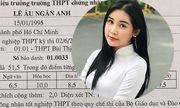 Lộ bảng điểm tốt nghiệp THPT có cả điểm 10 của Hoa hậu Lê Âu Ngân Anh