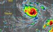 Siêu bão Trami xuất hiện gần Biển Đông