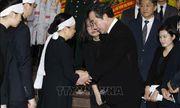 Nhiều đoàn lãnh đạo các nước đến viếng Chủ tịch nước Trần Đại Quang