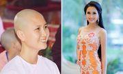 Người có mái tóc đẹp nhất Hoa hậu Việt Nam 2014 xuống tóc đi tu