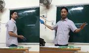 Video: Phát sốt thầy giáo vui tính dạy học sinh cách lau bảng