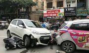 """Tin tai nạn giao thông mới nhất ngày 30/9/2018: Tài xế ôtô """"điên"""" đâm 4 người nhập viện"""