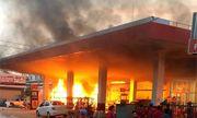 Hé lộ nguyên nhân cây xăng ở TP. Hồ Chí Minh bốc cháy kinh hoàng