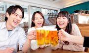 Bí quyết uống rượu bia không lo rối loạn tiêu hóa của người Nhật
