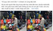 Xúc động câu chuyện người cha nghèo tìm mua balo mừng sinh nhật con gái 7 tuổi