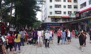 Cháy căn hộ tầng 31 chung cư Linh Đàm, cư dân hoảng loạn tháo chạy xuống dưới