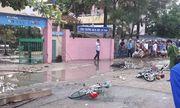 Điện giật trước cổng trường, 6 học sinh thương vong
