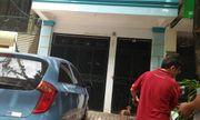 Công an khám nhà nghi phạm nổ súng bắn vợ ở Hà Nội