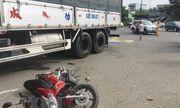 Ô tô tải va chạm xe máy, 2 mẹ con tử vong tại chỗ