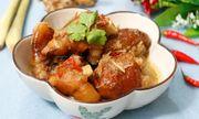 Món ngon mỗi ngày: Chân giò nấu giả cầy nóng hổi cho bữa cơm ngày se lạnh