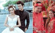 Đám cưới trái ngược nhau của Phương Hằng (Gạo Nếp Gạo Tẻ) trên phim và đời thực