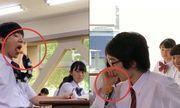 Video: Tròn mắt xem học sinh Nhật ăn vụng trong lớp học