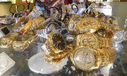 Hàng trăm đồng hồ Rolex, Hublot.. bán với giá chỉ từ 400.000 đồng